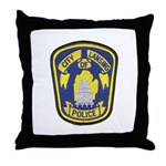 Lansing Police Throw Pillow