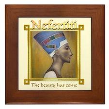 Nefertiti Framed Tile