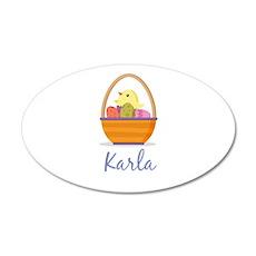 Easter Basket Karla Wall Decal