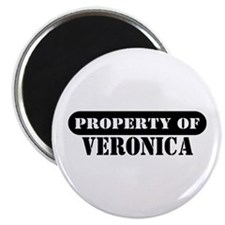 "Property of Veronica 2.25"" Magnet (10 pack)"
