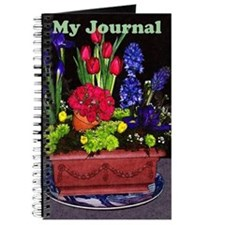 Flowers In Terra Cotta Journal