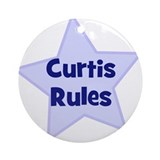 Curtis Rules Ornament (Round)