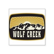 Wolf Creek Sunshine Patch Sticker