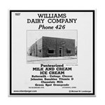 Williams Dairy Tile Coaster