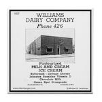 Williams Dairy Tile Coaster