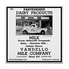 Vandello Dairy Tile Coaster
