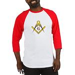 The Master Masons Square and Compasses Baseball J