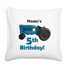 Custom 4 year old boy Square Canvas Pillow