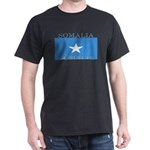 Somalia Somali Flag Black T-Shirt