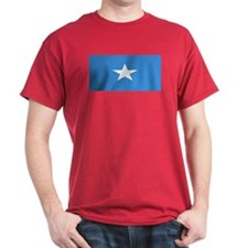 Somalia Somali Blank Flag Red T-Shirt