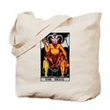 The Devil Major Arcana Tarot Card Tote Bag