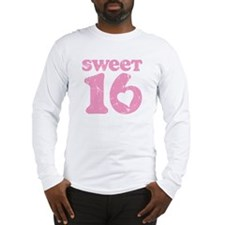 Retro Sweet 16 Birthday Long Sleeve T-Shirt