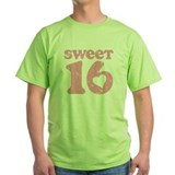 Retro Sweet 16 Birthday T-Shirt