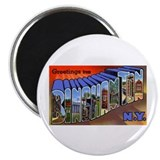 Binghamton New York Greetings Magnet