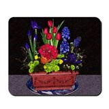 Flowers In Terra Cotta Mousepad