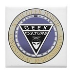Seal of the Geek Tile Coaster