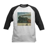 Antique Train Steam Engine Locomotive Vintage Tee