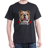 Love English Bulldog T-Shirt
