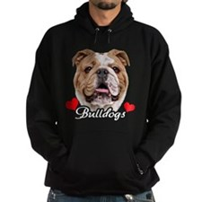 Love English Bulldog Hoodie