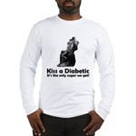 Kiss a Diabetic Long Sleeve T-Shirt