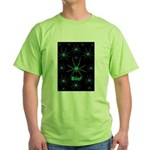 Boo! Spiders Creepy Green Green T-Shirt