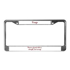 Virago License Plate Frame