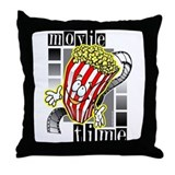 Movie Time @ eShirtLabs.Com Throw Pillow