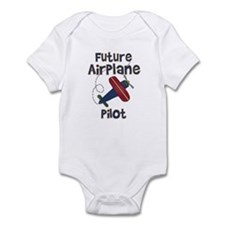 Future Airplane Pilot Infant Creeper