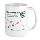 Common Algebra Mistakes Mug