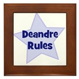 Deandre Rules Framed Tile