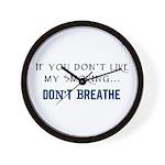 Dislike My Smoking Wall Clock