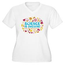 3-science Plus Size T-Shirt
