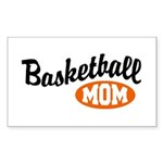 Basketball Mom Rectangle Sticker