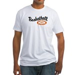 Basketball Mom Fitted T-Shirt
