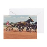 The Sulky Race Greeting Cards (Pk of 10)