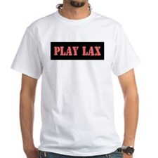 PLAY LAX White T-shirt