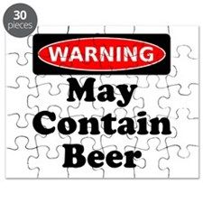 Warning May Contain Beer Puzzle