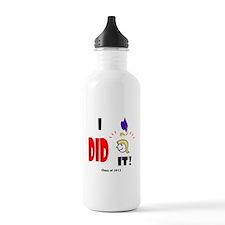 Unique Class of 2013 Water Bottle