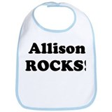 Allison Rocks! Bib