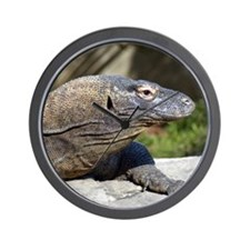 Komodo Dragon Wall Clock