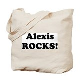 Alexis Rocks! Tote Bag