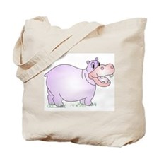 Danielle the Hippo Tote Bag