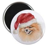 Christmas Pomeranian Magnet