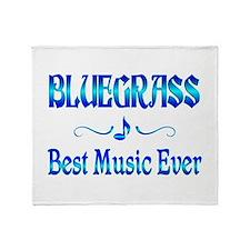 Bluegrass Best Music Throw Blanket