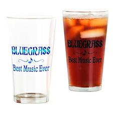 Bluegrass Best Music Drinking Glass