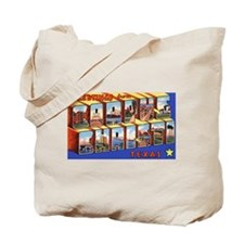 Corpus Christi Texas Greetings Tote Bag