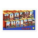 Corpus Christi Texas Greetings Postcards (Package