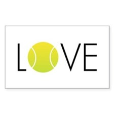 Tennis LOVE ALL Stickers
