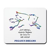 Pegasus Dreams Mousepad