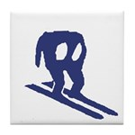 Horace Goes Skiing Tile Coaster